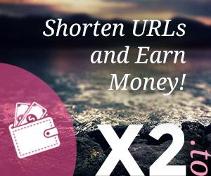 x2.to - Shorten URLs and Earn Money!
